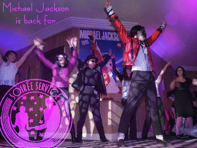 Soirée Michael Jackson r mk2