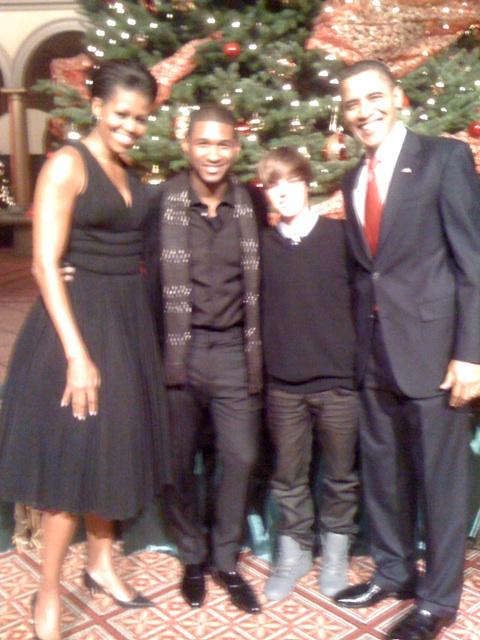 Justin Bieber, Usher & B.O