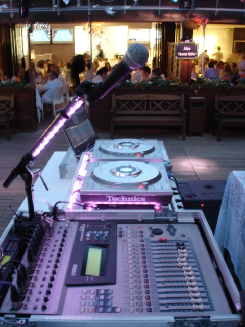 Allée Yannick Noah - Soirée Roland Garros - DJ.FaFadeParis